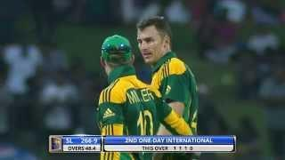 Four wickets from Ryan McLaren sets a decent target to chase for South Africans