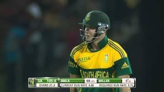 DA Miller dropped on 0 by Ashan Priyanjan (SL vs SA 2nd ODI 2014)