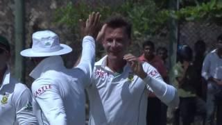 Man of the Match performance by Dale Steyn.. 4 Wickets (SL vs SA 2014 - 1st Test, Day 5)
