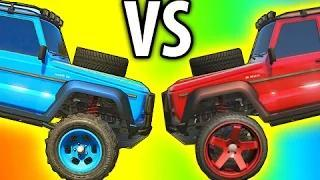 GTA 5 Tips & Tricks: OFF ROAD Vs STREET TIRES - Whats Better? (Grand Theft Auto V Tips)