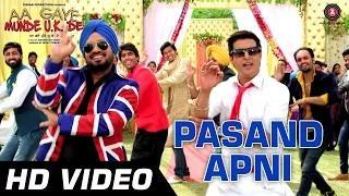 Pasand Apni (Official Video) - Aa Gaye Munde UK De - Jimmy Sheirgill, Neeru Bajwa - Punjabi Folk