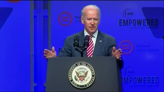Biden Talks Economy and Civil Rights