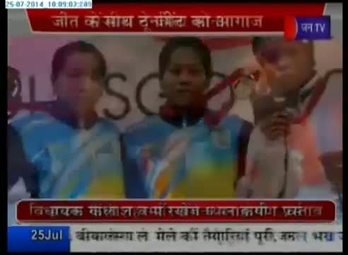 India wins 7 medals including 2 gold medal in Commonwealth Games 2014