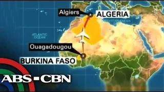 Air Algerie flight with 116 on board crashes