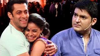 Salman Khan FLIRTS with Kapil Sharma's WIFE!