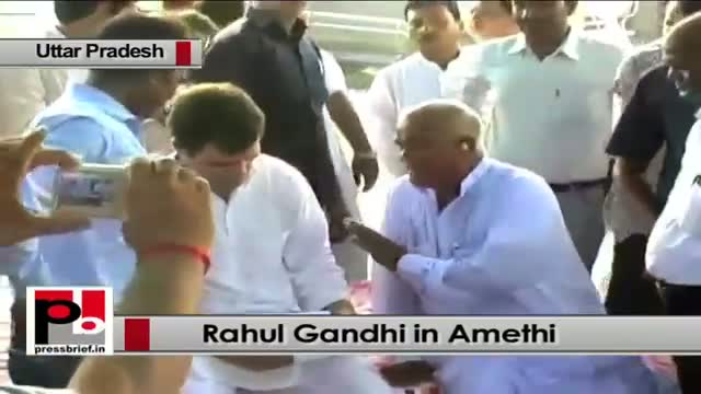 Rahul Gandhi in Amethi: Ideology of RSS and BJP has been exposed after Maharashtra Sadan row