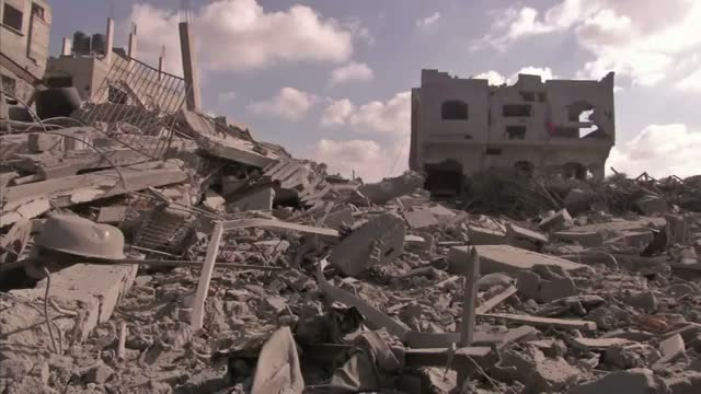 Residents Come Home to Rubble in Gaza
