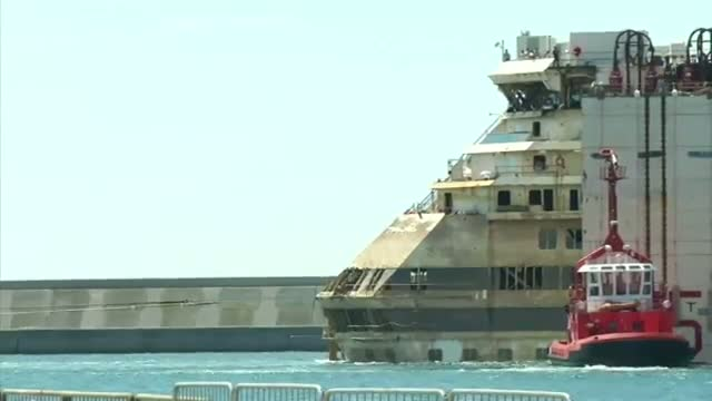 Shipwrecked Concordia Completes Last Voyage Video