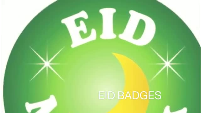 Eid Decorations : Eid Party Range - Eid Mubarak