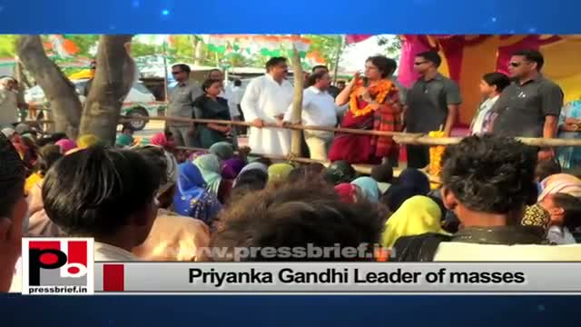 Priyanka Gandhi Vadra - charming personality who has a special ability to connect with people