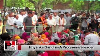 Priyanka Gandhi - who has all abilities to help strengthen Congress party