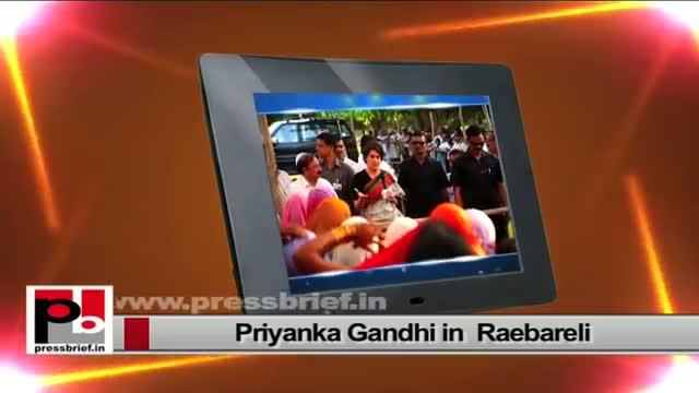 Priyanka Gandhi, a charismatic personality like Indira Gandhi