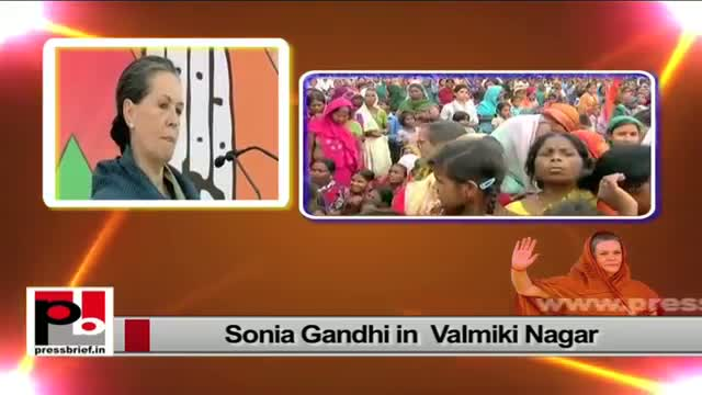 Sonia Gandhi contributing her maximum to make a strong and self reliant India