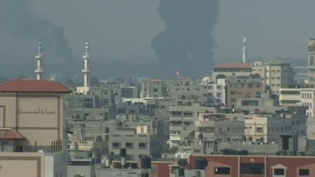 2 Shells Hit Fuel Tank at Gaza Power Plant
