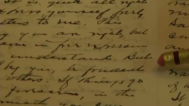 Harding Love Letters Now Open to Public