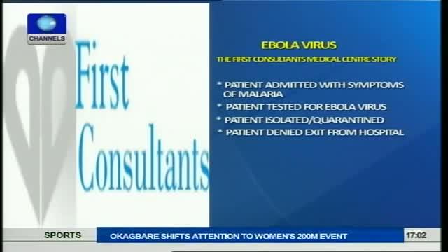 Ebola Virus: Hospital Contacts US Health Officials, CDC & W.H.O