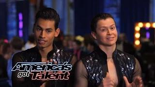 John & Andrew: Male Salsa Duo Tries to Top Their Last Dance - America's Got Talent 2014