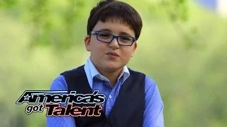 Adrian Romoff: 9-Year-Old Piano Prodigy Delivers Classical Tune - America's Got Talent 2014