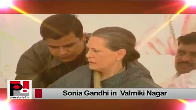 Sonia Gandhi - a leader whose priority always has been to serve the poor