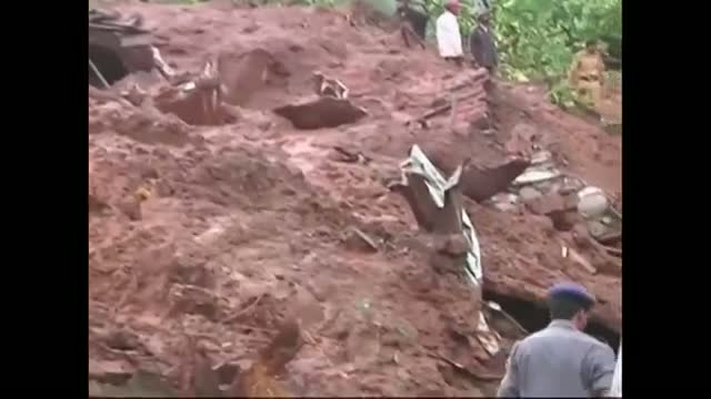 Deadly Landslide Hits Indian Village