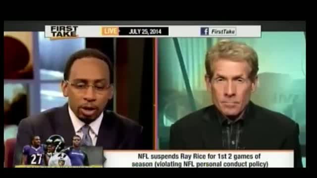 Stephen A Smith to Women: 'Don't Do Anything to Provoke' Men Into Beating You