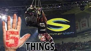 Five incredible SummerSlam Facts - Five Things