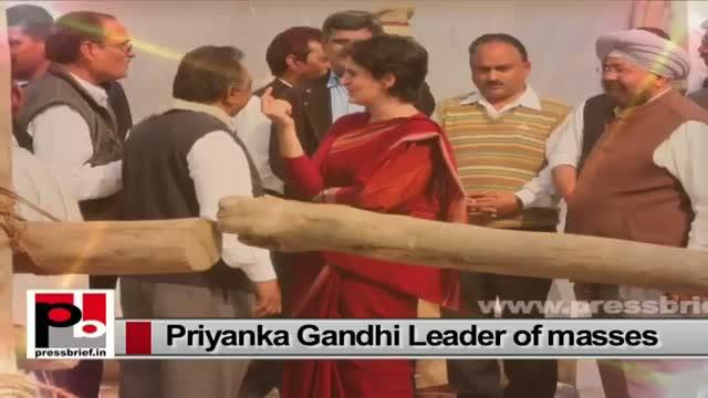 Priyanka Gandhi Vadra, young, energetic Congress leader who has reflection of Indira Gandhi