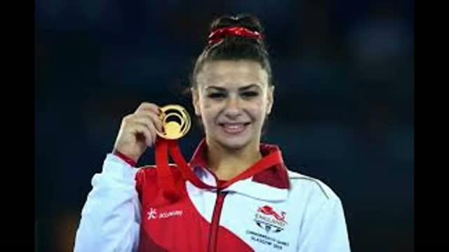 England's Claudia Fragapane wins Gold Medal in Gymnastic - XX Commonwealth Games 2014