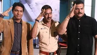 Ajay Devgn Promotes Singham Returns On CID