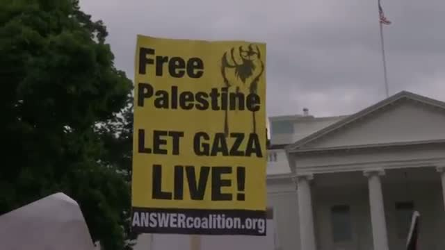 Mideast Demonstrations Near White House