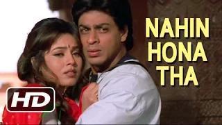 Nahin Hona Tha - Best Romantic Hindi Song - Shahrukh Khan, Mahima Chaudhry - Pardes (1997)