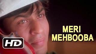 Meri Mehbooba - Best Superhit Romantic Song - Shahrukh Khan, Mahima Chaudhry - Pardes (1997)