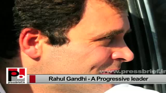 Rahul Gandhi - never hungry for power or any media hype; wants to serve the poor