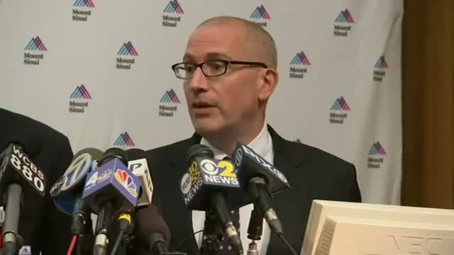 NY Doctor: 'Odds Are' Patient Doesn't Have Ebola