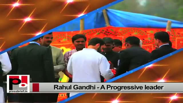 Rahul Gandhi - always ready to take up people's issues