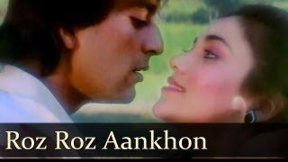 Roz Roz Aankhon Tale - Sanjay Dutt - Mandakini - Jeeva - Old Bollywood Songs - R.D.Burman [Old is Gold]