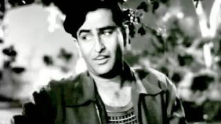 Yeh Raat Bheegi Bheegi - Raj Kapoor, Nargis, Manna Dey, Lata, Chori Chori (1956)