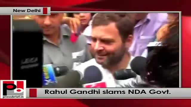 Rahul Gandhi: Only one man's voice counts for anything in this country