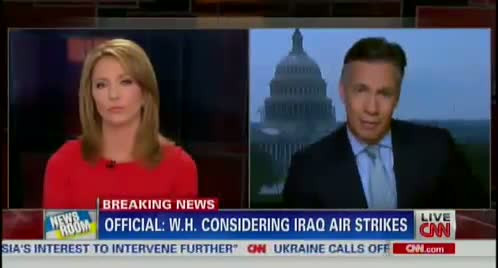 ALERT: US to AirStrike ISIS in Iraq