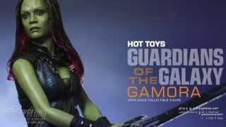 Hot Toys Gamora 1/6 Scale Guardians of the Galaxy Movie Action Figure Revealed