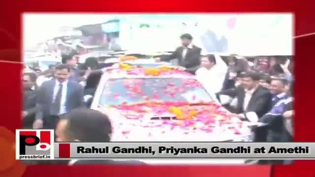 Rahul Gandhi, Priyanka Gandhi - energetic Congress leaders with progressive vision, modern ideas