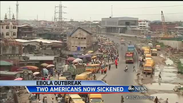 Second American Contracts Ebola Virus in West Africa