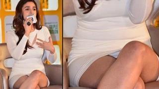 Alia Bhatt Exposes Her Panty Wardrobe Malfunction