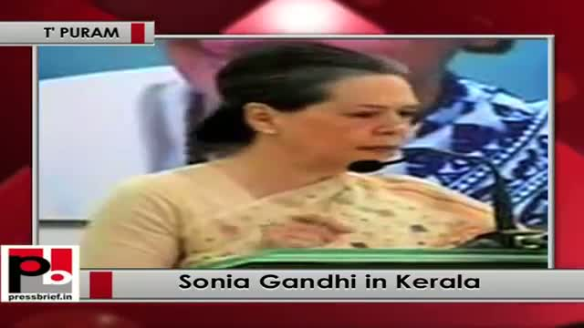 Sonia Gandhi: There has been a spurt in communal violence after NDA government came to power