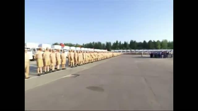 Russia Sends Humanitarian Aid to Ukraine