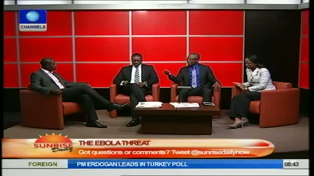 Nigerians Should Not Panic Over Ebola Virus -Dr Olukayode Part1