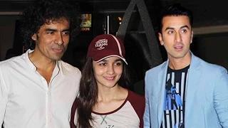 Alia Bhatt & Ranbir Kapoor At 'Shuruwat Ka Interval' Short Film Festival With Imtiaz Ali
