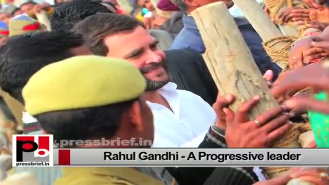 Rahul Gandhi - the youth icon with forward looking vision and innovative ideas