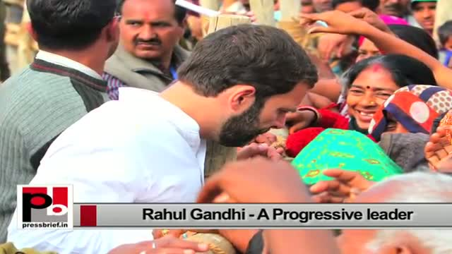 Rahul Gandhi - a perfect and genuine mass leader who always focussed on people's welfare