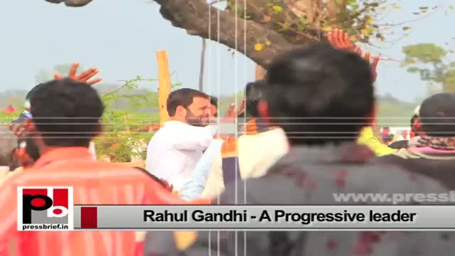 Rahul Gandhi, the Congress Vice President who sets an example by doing what he has been saying